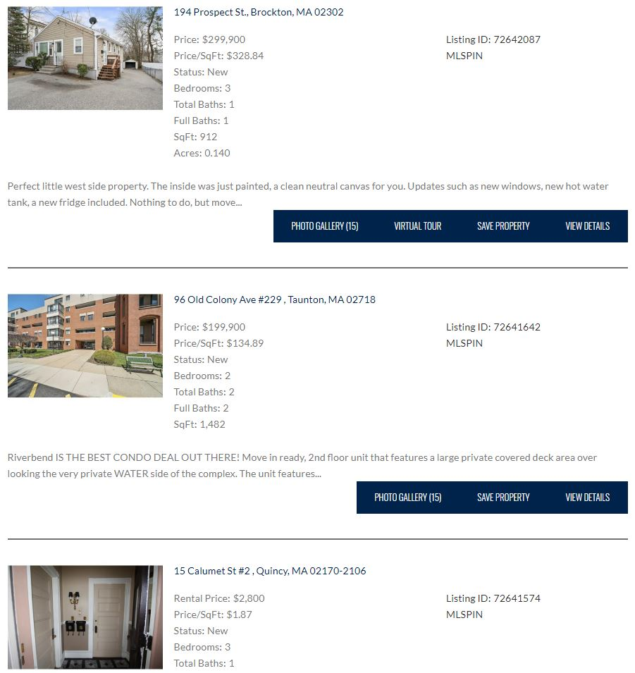 new listings | SUCCESS! Real Estate