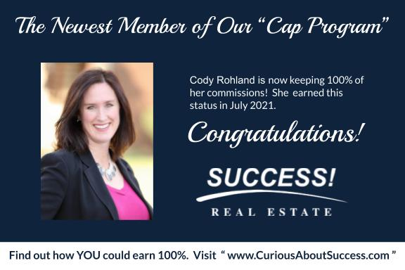 Cody Rohland Realtor Capping Announcement