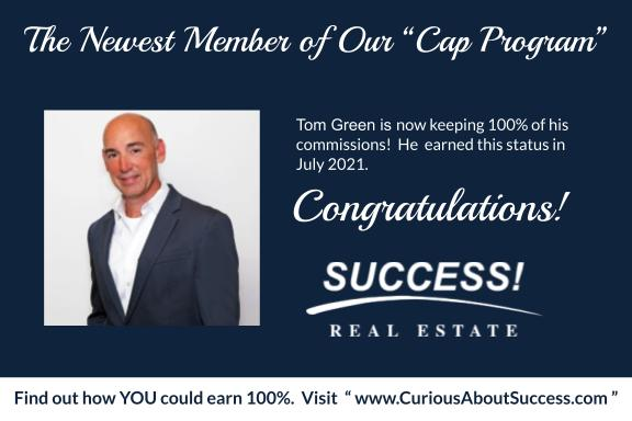 Tom Green Capping Announcement